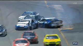 Monster Energy NASCAR Cup Series 2017. Sonoma Raceway. Ricky Stenhouse Jr. & Danica Patrick Crash