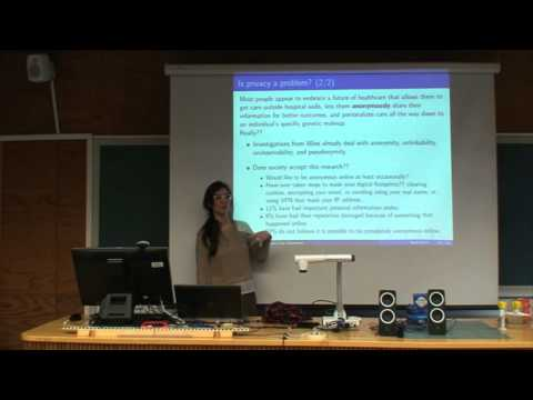 Day 9 - Lecture: Guaranteeing Privacy Properties