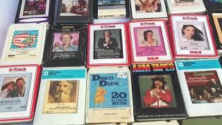 800, 8 track tape haul, PT1 VC & 8 track & cassette community