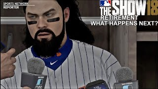 MLB The Show 18 | What Happens When You Retire ? | Road To The Show