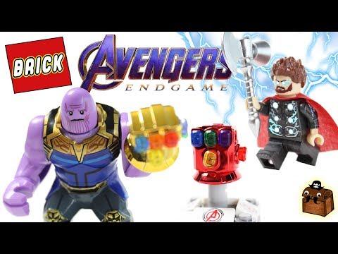 LEGO Avengers Endgame  Final Battle Custom Minifigures
