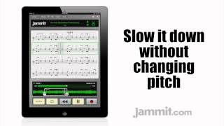 "Jammit ipad iphone app Yes Video The Fish (Schindleria Praematurus) ""learn to play drums"""