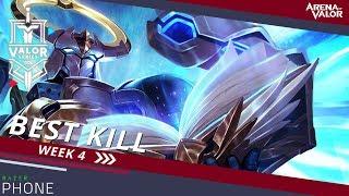 Best Kill for Week 4! | Valor Series [EU] - Arena of Valor