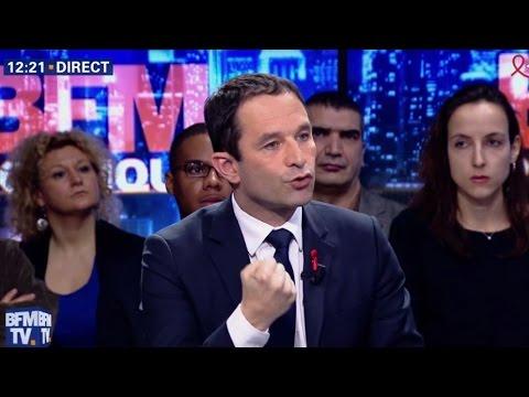 Benoît Hamon était l'invité de BFM Politique le 26/03/2017
