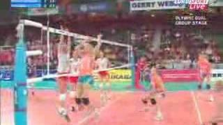 Polska-Holandia siatkówka kobiet