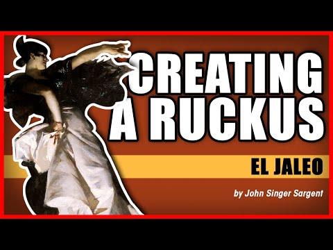 "Free Download Creating A Ruckus: ""el Jaleo"" By John Singer Sargent Mp3 dan Mp4"