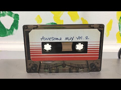 Awesome Mix Vol. 2 Cassette - Guardians of the Galaxy Vol. 2 Review/Unboxing
