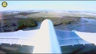 HARDEST EVER A380 Landing, MUST SEE - from onboard-camera!!! Flaring is for wimps only... [AirClips]