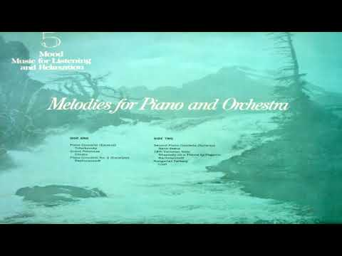 Royal Philharmonic Orchestra   Melodies for Piano and Orchestra GMB