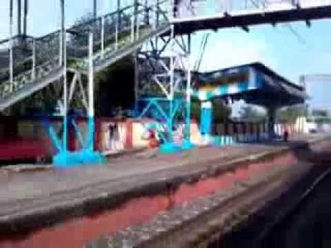 Talandu Railway Station of Howrah Burdwan Main Line of Eastern Railway Video