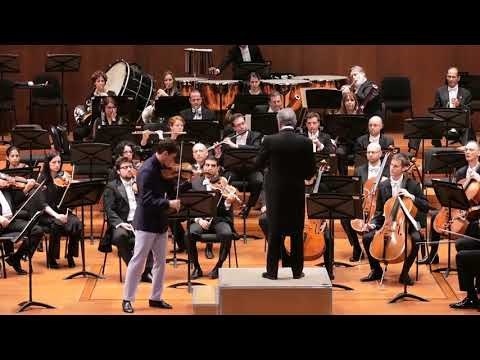 Charlie Siem with Israel Philharmonic Orchestra & Zubin Mehta   Bruch Violin Concerto 2nd Mov
