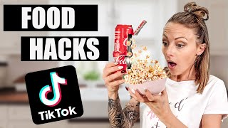 JE TESTE DES FOOD HACKS TIKTOK #2