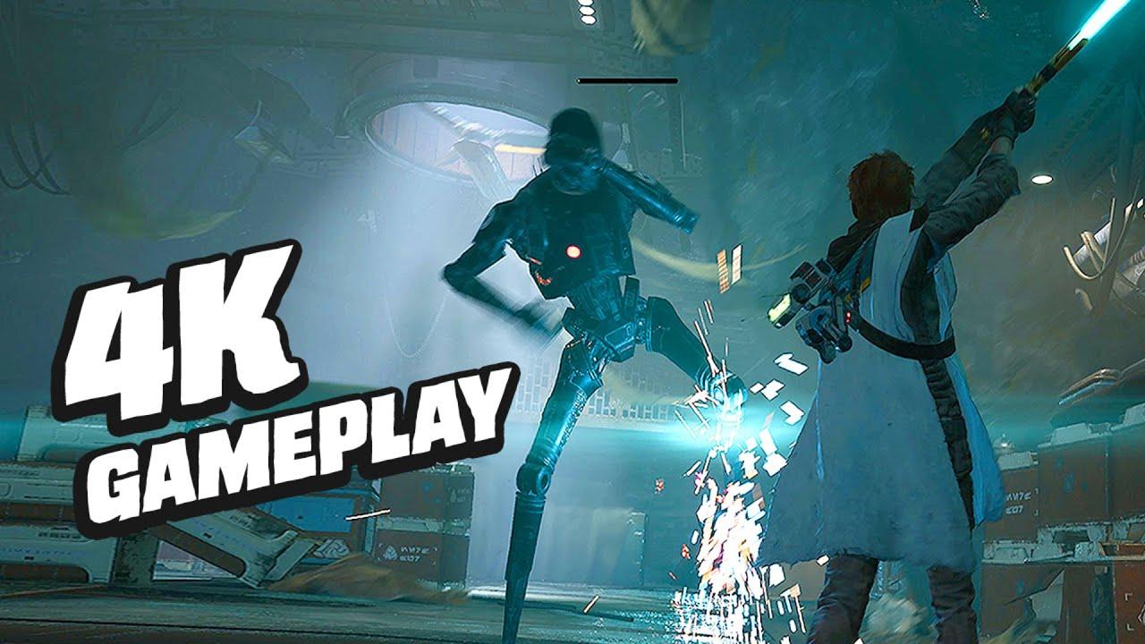 Star Wars Jedi: Fallen Order Optimized Xbox Series X Gameplay – GameSpot