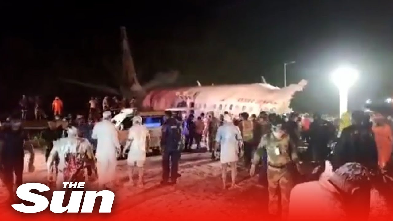 Air India crash in Kerala kills three after plane skids off runway - CNN