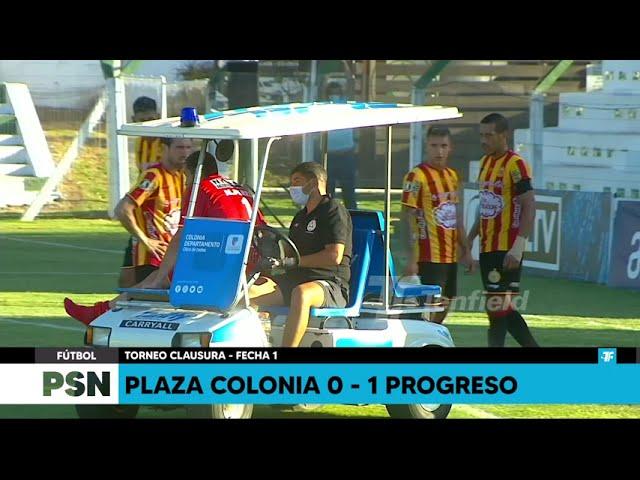 Clausura - Fecha 2 - Plaza Colonia 0:1 Progreso