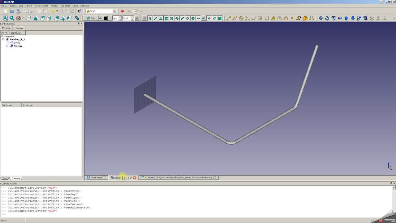 wire bending xyz to lra freecad youtube rh youtube com wiring system wiring systems inc
