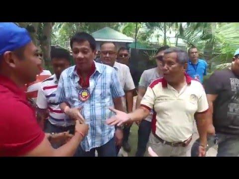 DUTERTE visits MILF Camp Darapanan Sultan Kudarat