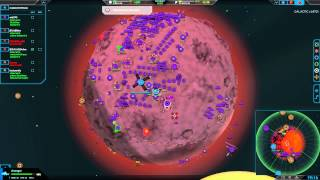 Planetary Annihilation Gamma : 7 Player Free For All - Dynamic Alliance wonders!