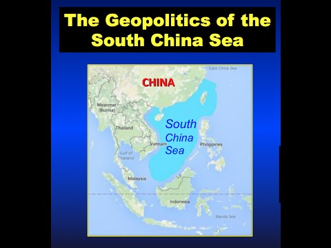 The geopolitics of the South China Sea