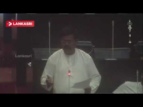 MP Sritharan Speech at parliment
