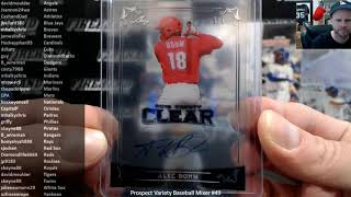 Prospect Variety Baseball Mixer #49 ~ 10/21/19