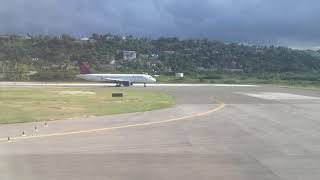 Takeoff from Montego Bay (MBJ)   Jet Blue A320