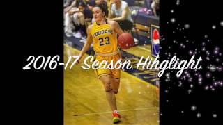 ZEYNEP CANBAZ #23 PG || 2016-17 Season Highlight - Western Nebraska Community College ||