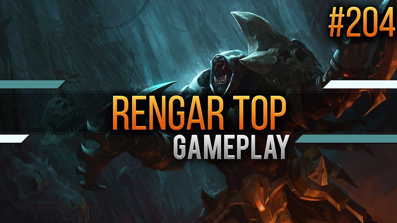 how to play rengar top