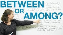 Between or Among?