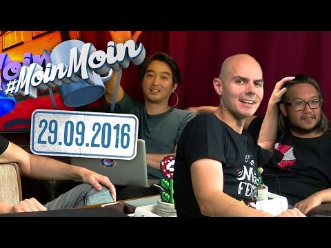 #MoinMoin mit Gregor, Budi und Ian | 10 Jahre GameOne, Peinliche Outtakes | 29.09.2016