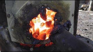 Пиролиз угля (эксперимент №12)
