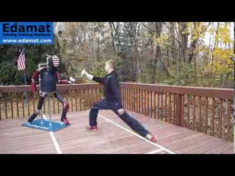 Fencing Dummy Exercise 011