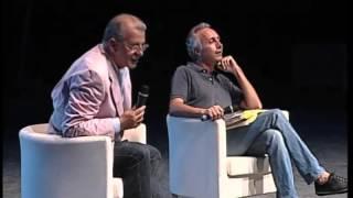 Festa del Fatto alla Versiliana, Marco Travaglio intervista Aldo Busi