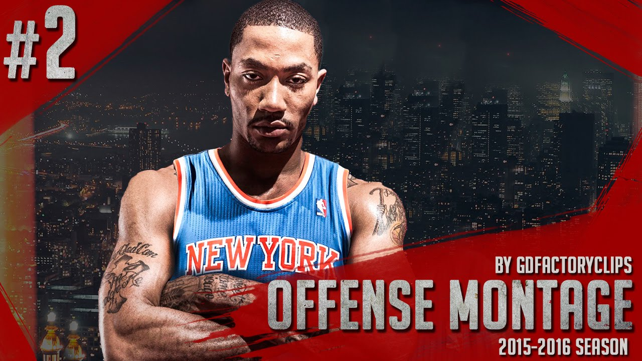 ee65fb299c2 Derrick Rose Offense Highlights 2015 2016 (Part 2) - Welcome to NY Knicks!  - YouTube