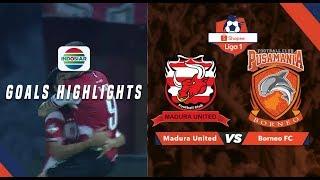 Madura United (3) vs Borneo FC (0) - Goal Highlights | Shopee Liga 1