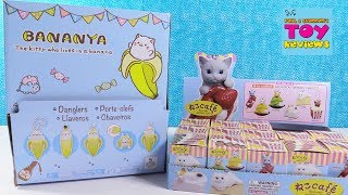 Bananya The Kitty Who Lives In A Banana & Neco Cafe Toy Review   PSToyReviews