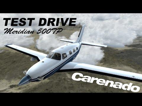 Test Drive | Carenado PA46 Malibu Meridian 500TP | Prepar3D V3 | 4k