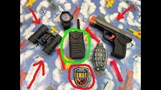 Военный Набор и ОРУЖИЕ игрушки для мальчиков Видео для детей.Happy time