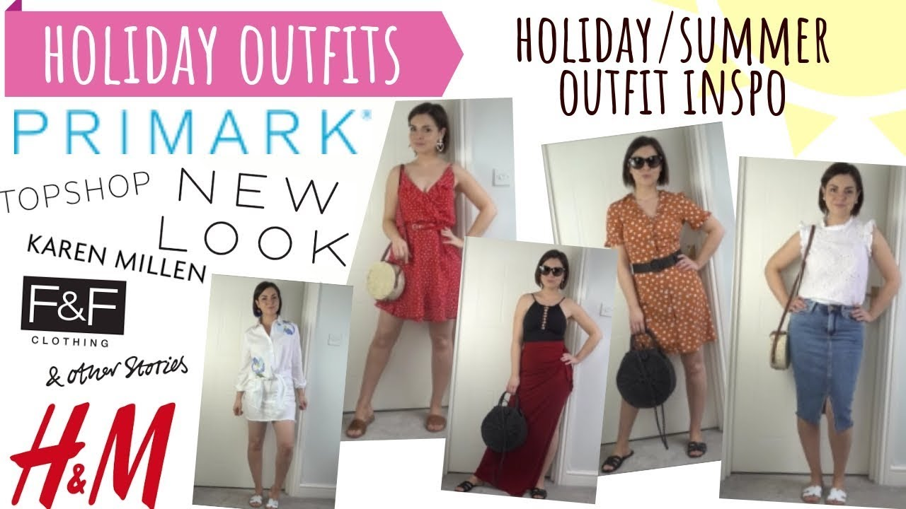 SUMMER HOLIDAY OUTFIT IDEAS TRY ON / PRIMARK H&M NEWLOOK TOPSHOP & OTHER STORIES / HIGH STREET HAUL 3