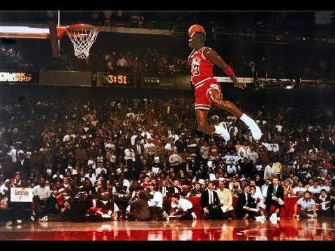 new styles 35d65 0aa4e Michael Jordan Slam Dunk Contest (1987) - Champion!   NBA Highlights HD