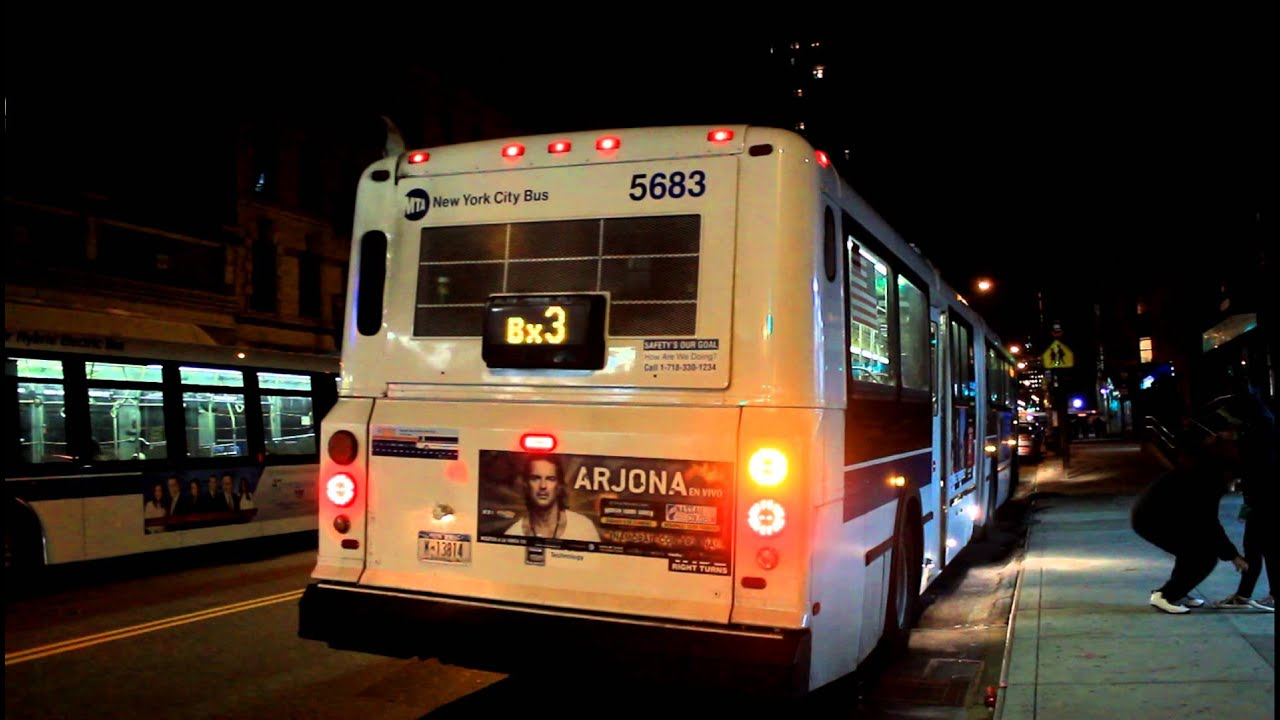 mabstoa bus  new flyer d60hf   5683  bx3 at wadsworth ave