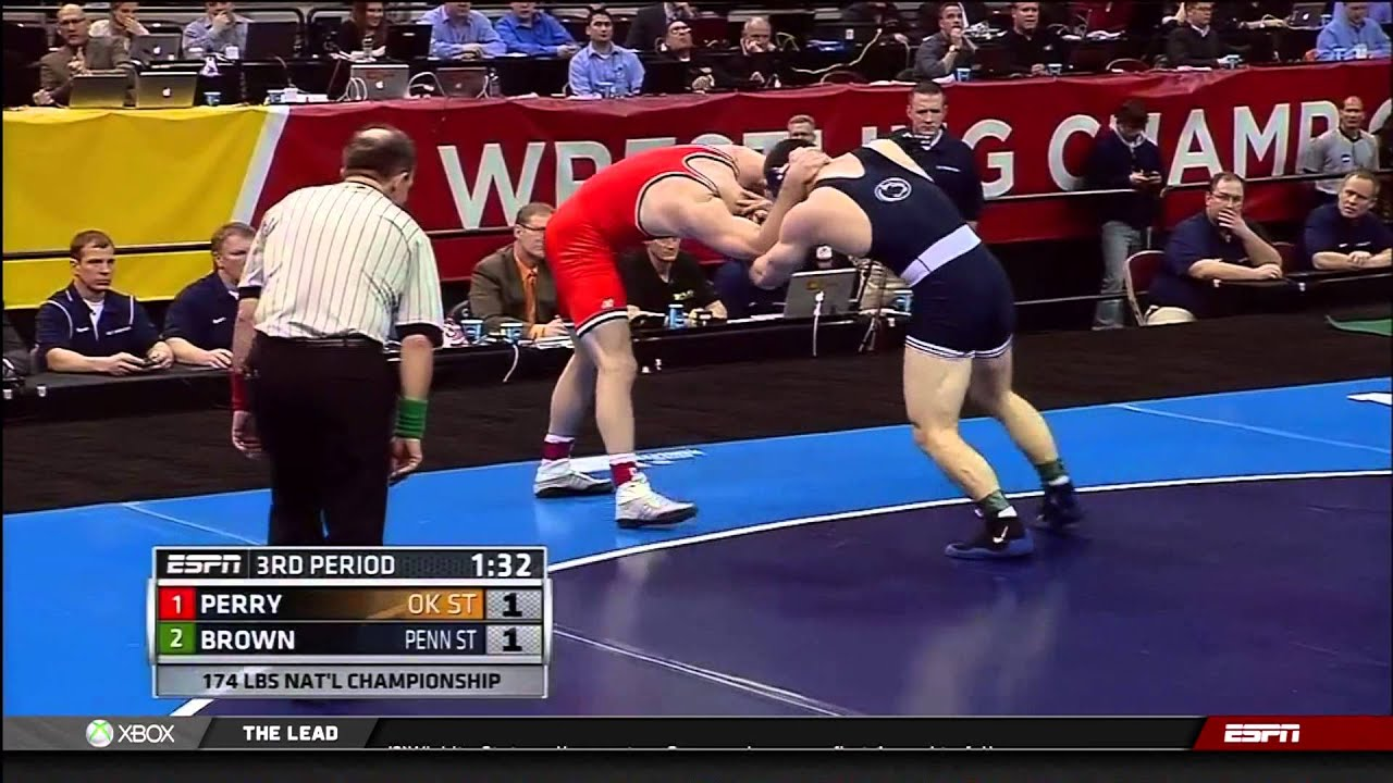 2013 NCAA Wrestling National Championships D1 Chris Perry