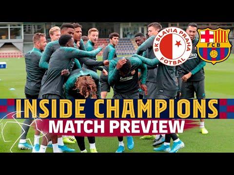 INSIDE CHAMPIONS | Slavia - Barça (Match preview)