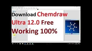 Download Free Chemdraw Ultra 12.0 Working 100%