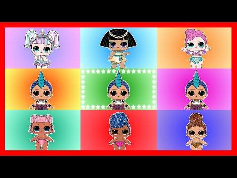LOL Confetti Pop Wave 1 Game with Punk Boi Team vs Fake LOL Team vs Girls Team