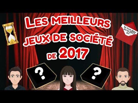 Les meilleurs jeux de société de 2017 - Les Sabliers d'Or !