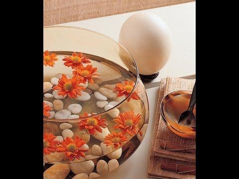 Flores y velas flotantes arreglos florales youtube - Arreglos con velas ...