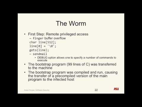 "CSE 545 S16: ""The History of Software Insecurity pt. 3 and Ethics pt. 1"""