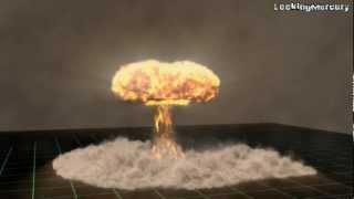 Nuke Bomb with TurbulenceFD II - Lightwave (Scene Included)