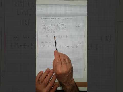polinomi opposti al denominatore in espressioni con frazioni algebriche from YouTube · Duration:  18 minutes 17 seconds